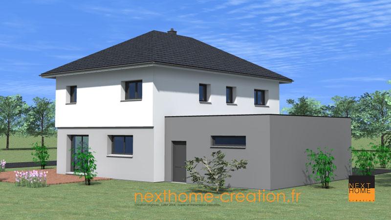 HD wallpapers maison cubique toit 4 pans desktophdesignpatternlove.cf