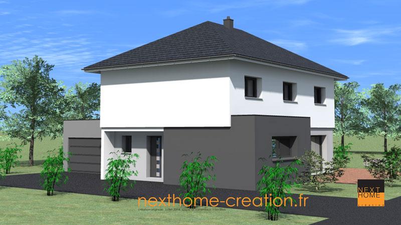 awesome maison moderne 4 pans photos transformatorio us transformatorio us