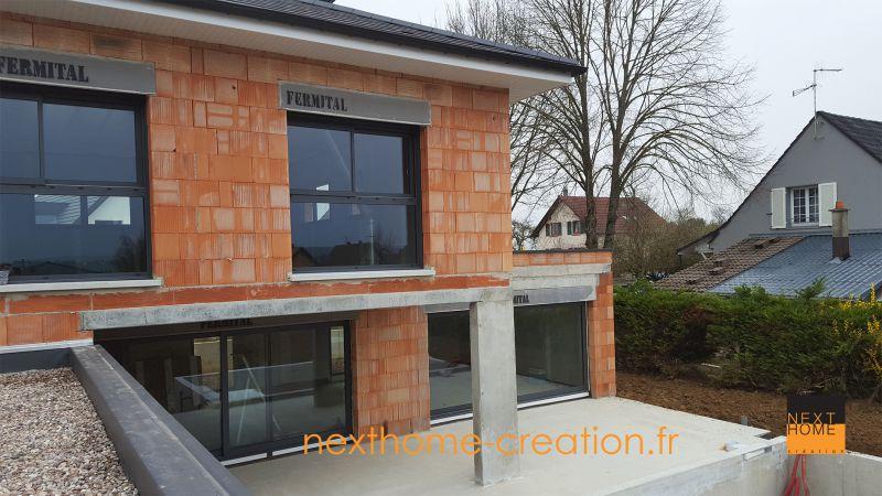 Magnifique maison 4 pans et garage accol nexthome for Garage volkswagen haut rhin
