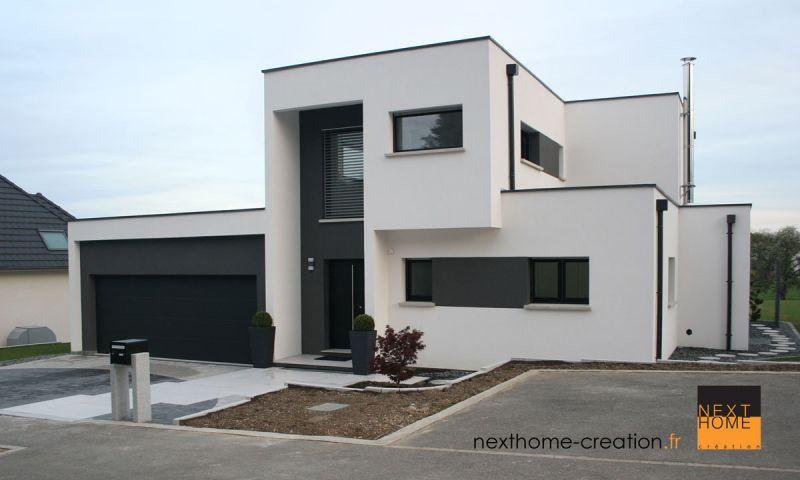 Maison l 39 architecture contemporaine toit plat - Maison toit plat contemporaine par heliotrope architects ...