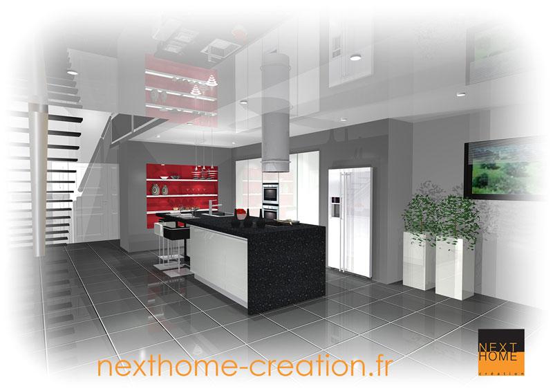 Maison architecte 4 pans Nexthome Creation - Nexthome