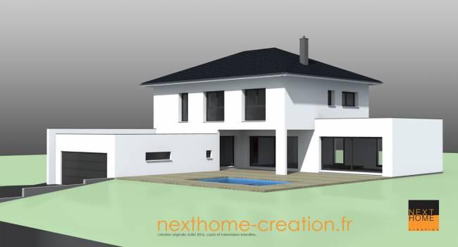 Nexthome Création | Construction maison 4 pans Haut-Rhin ...