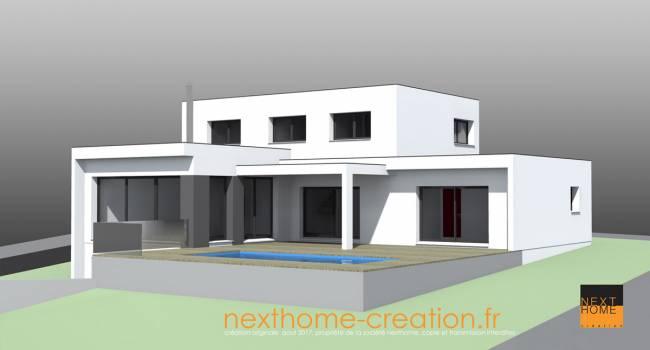 Maisons toit plat best maison toit plat besanon with maisons toit plat excellent plan maison for Maison toit plat alsace