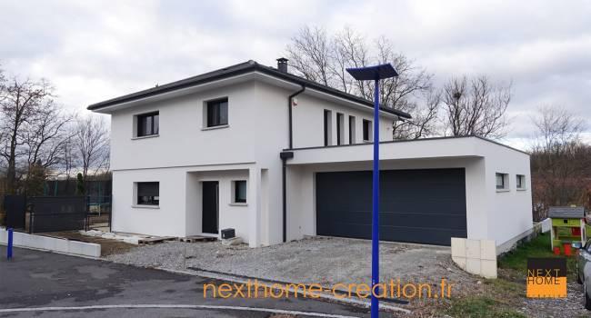 Nexthome cr ation construction maison 4 pans 68 for Constructeur maison contemporaine haut rhin