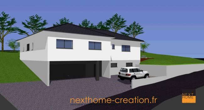 Nexthome Création Construction Maison 4 Pans 68 Constructeur Maison ...