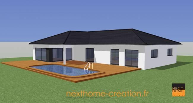 Nexthome cr ation construction maison plain pied haut for Constructeur maison contemporaine haut rhin