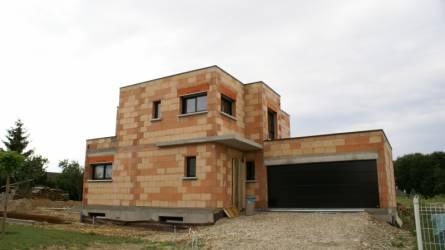 Maison moderne toit plat haut rhin nexthome cr ation for Constructeur maison contemporaine haut rhin