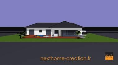 Plain pied moderne Haut-Rhin 68 - Nexthome Création
