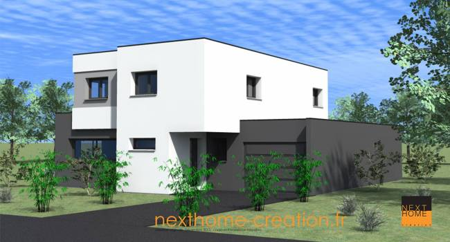 nexthome cr ation construction maison toit plat haut rhin constructeur maison 68 nexthome. Black Bedroom Furniture Sets. Home Design Ideas