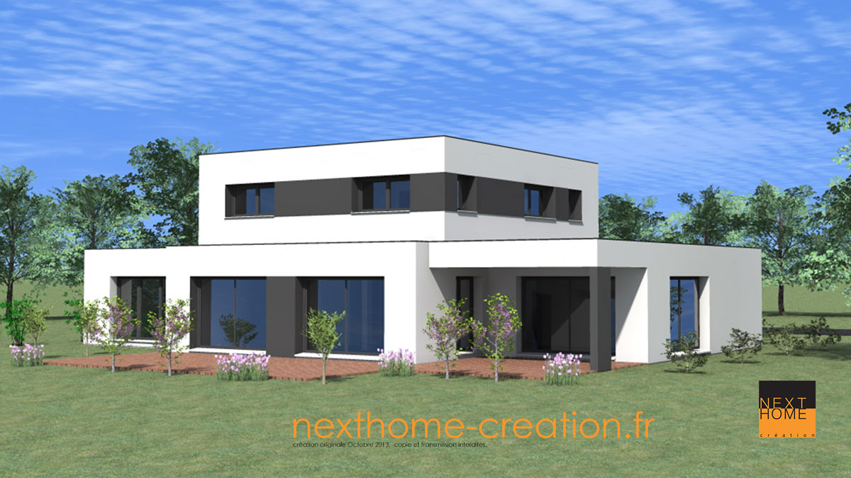 Construction maison contemporaine toit plat ventana blog for Construction villa casablanca