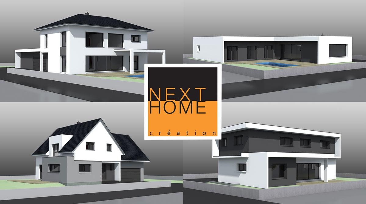 La construction de maison individuelle en Alsace - Nexthome Création