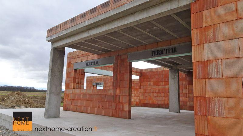 Maison d\'architecte à toit plat et garage sous-sol - Nexthome Création