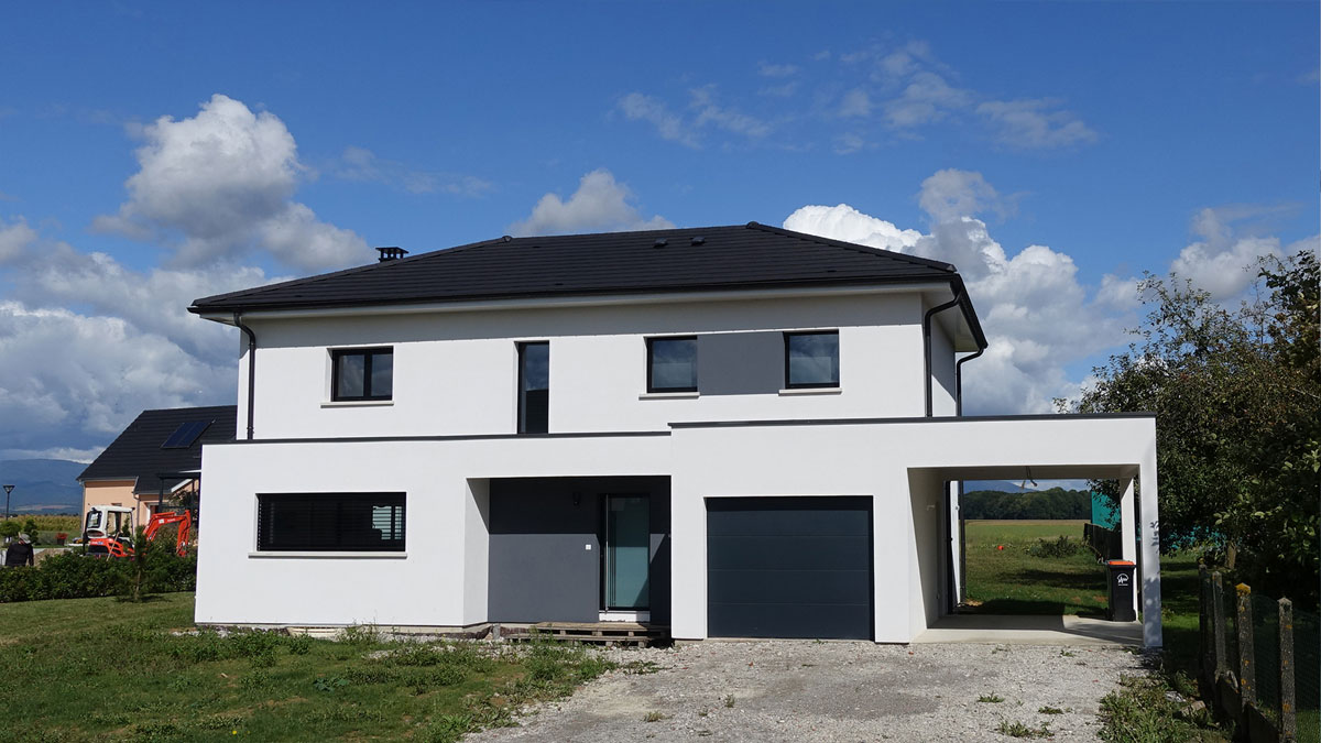 Maison architecte plan de maison par maisons france for Maisons et architectes